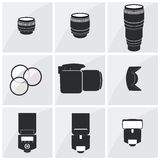 Photographer accessory set Royalty Free Stock Photo