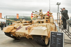 Photographer ana Tank Support Combat Vehicle Stock Images