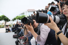 Photographer attends the Jury Cinefondation Royalty Free Stock Photography