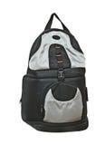 Photographer backpack isolated on white background Royalty Free Stock Image