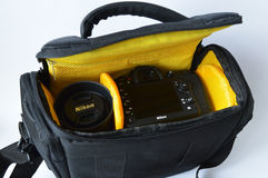 Photographer bag Royalty Free Stock Photography