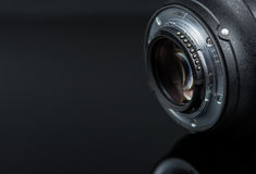 Photographer Camera Lens Stock Images