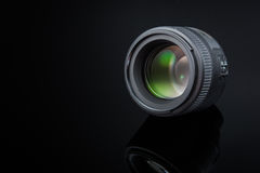 Photographer Camera Lens Stock Photography