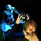 Photographer captures the performance Royalty Free Stock Images