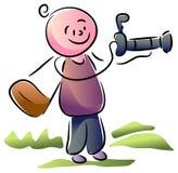 Photographer cartoon Stock Image