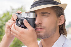 Photographer. Stock Photo