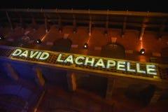 Photographer David LaChapelle sign Stock Photo