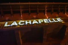 Photographer David LaChapelle sign Royalty Free Stock Image