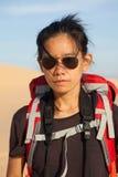 Photographer in desert Stock Photos