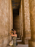 A photographer in Egypt Stock Photos