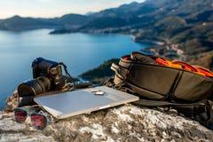 Photographer equipment Royalty Free Stock Image