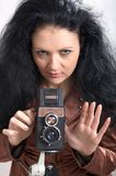 Photographer-girl Stock Photography