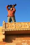 Photographer in Jaisalmer Royalty Free Stock Photo