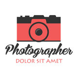 Photographer logo. Camera logo. Logotype. Photo studio. Digital photo. Photographer logo. Camera logo. Logotype. Photo studio Digital photo Royalty Free Stock Photos