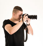 Male photographer Royalty Free Stock Images