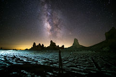 Photographer with Milky-Way stock images