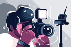 Free Photographer On Studio Fashion Stock Photos - 144181753