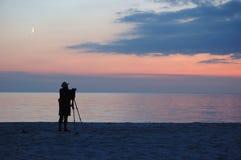 Free Photographer On The Beach Stock Image - 10665431