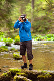Photographer outdoor Stock Photography