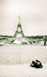 Photographer in Paris Royalty Free Stock Image