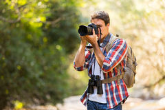 Photographer photo mountain Stock Image