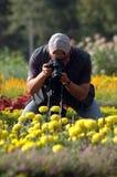 Photographer photograph Stock Photography