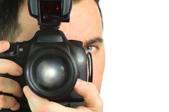 Photographer portrait Royalty Free Stock Image