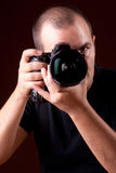 Photographer portrait Stock Images