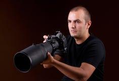 Free Photographer Portrait Stock Images - 27678614