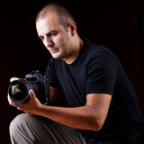 Photographer portrait Royalty Free Stock Photo