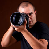 Photographer portrait Stock Photos