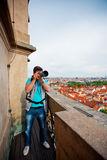 Photographer in Prague Stock Images