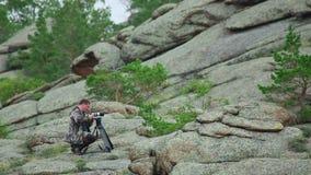 Photographer stock footage