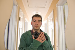 Photographer Self Portrait Stock Photo