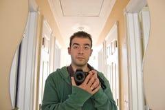 Photographer Self Portrait stock photo