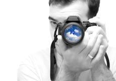 Photographer Shooting Royalty Free Stock Photography