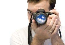 Photographer Shooting Stock Photo