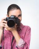 Photographer shooting Stock Image
