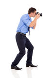 Photographer shooting photos Royalty Free Stock Photography