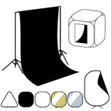 Photographer studio equipment set Stock Photography