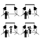 Photographer Studio Photography Stock Photography
