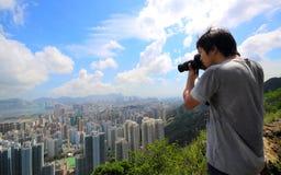 Photographer take photo Stock Images