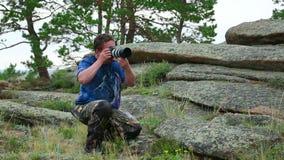 Photographer stock video
