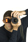 Photographer taking a photo Royalty Free Stock Image