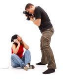 Photographer taking photos Royalty Free Stock Photo