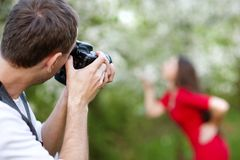 Photographer Stock Photography