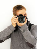 Photographer taking picture Royalty Free Stock Image