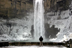 Photographer-Taughannock Falls Stock Images