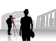 Photographer vector Stock Photography