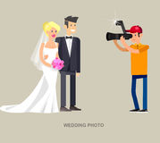 Photographer and videographer Stock Images